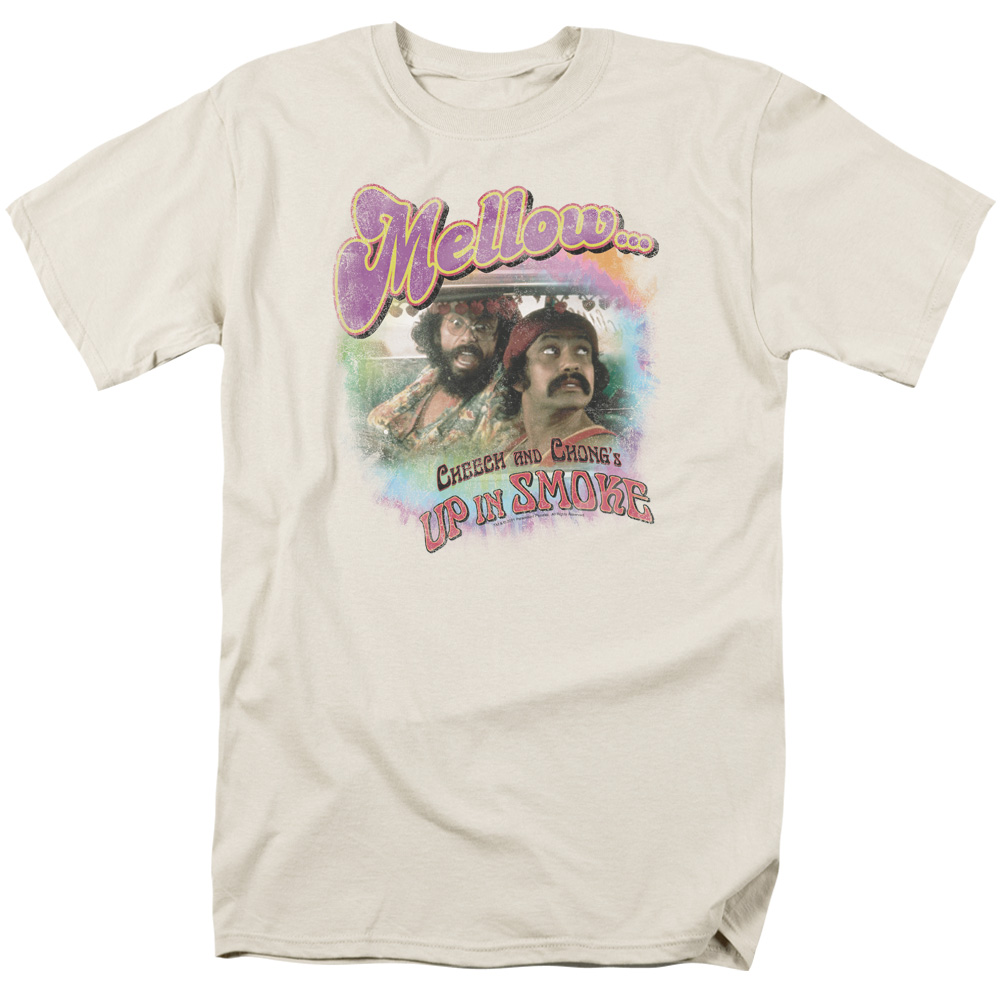 Cheech & Chong/Mellow   S/S Adult 18/1   Cream     Par137