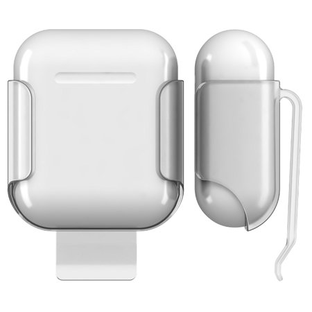 5da9198a3be AirPods Clip, Nakedcellphone Hard Shell Belt Clip Holster Case Cover for  Apple Airpods - Walmart.com