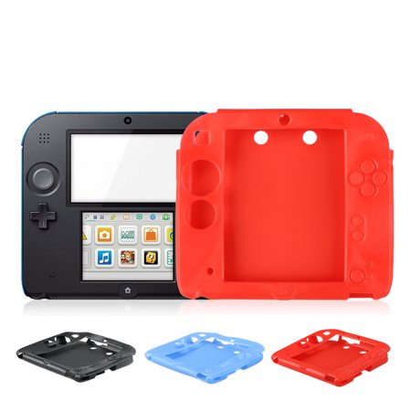 release date: 2573f 2cf04 Soft Silicone Rubber Protective Case Cover Skin for Nintendo 2DS