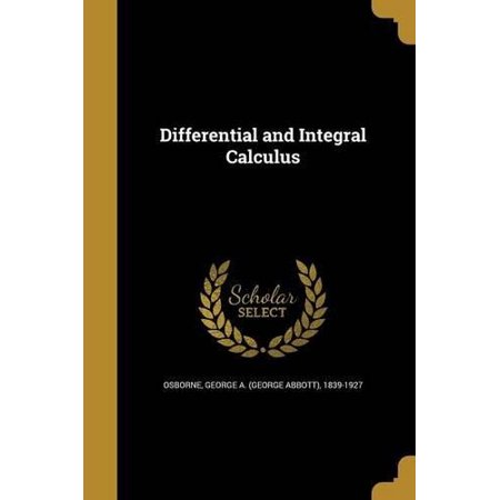 Differential and Integral Calculus - image 1 de 1