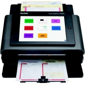 Kodak ZH0122 Scan Station 730EX Document Scanner - Desktop