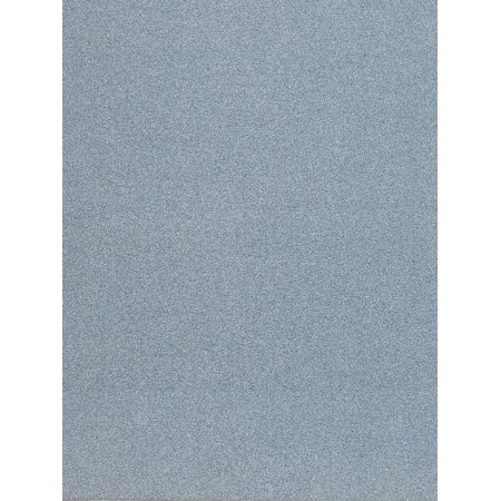 Pow! Glitter Paper pacific, 8 1/2 in. x 11 in., sheet (pack of 12)