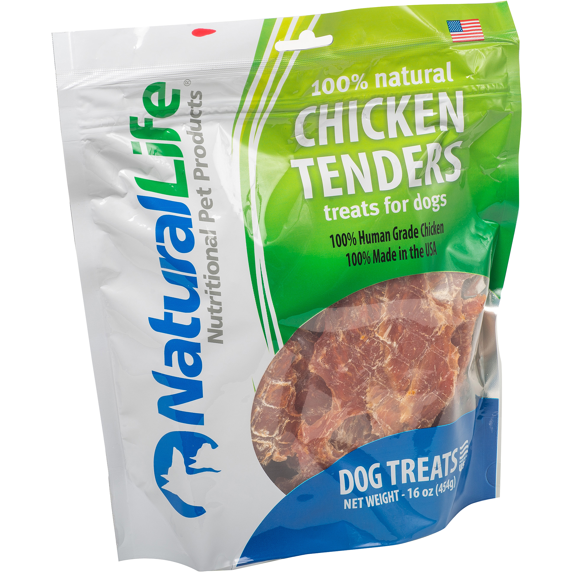 Natural Life Natural Chicken Tender Dog Treat, 16 oz