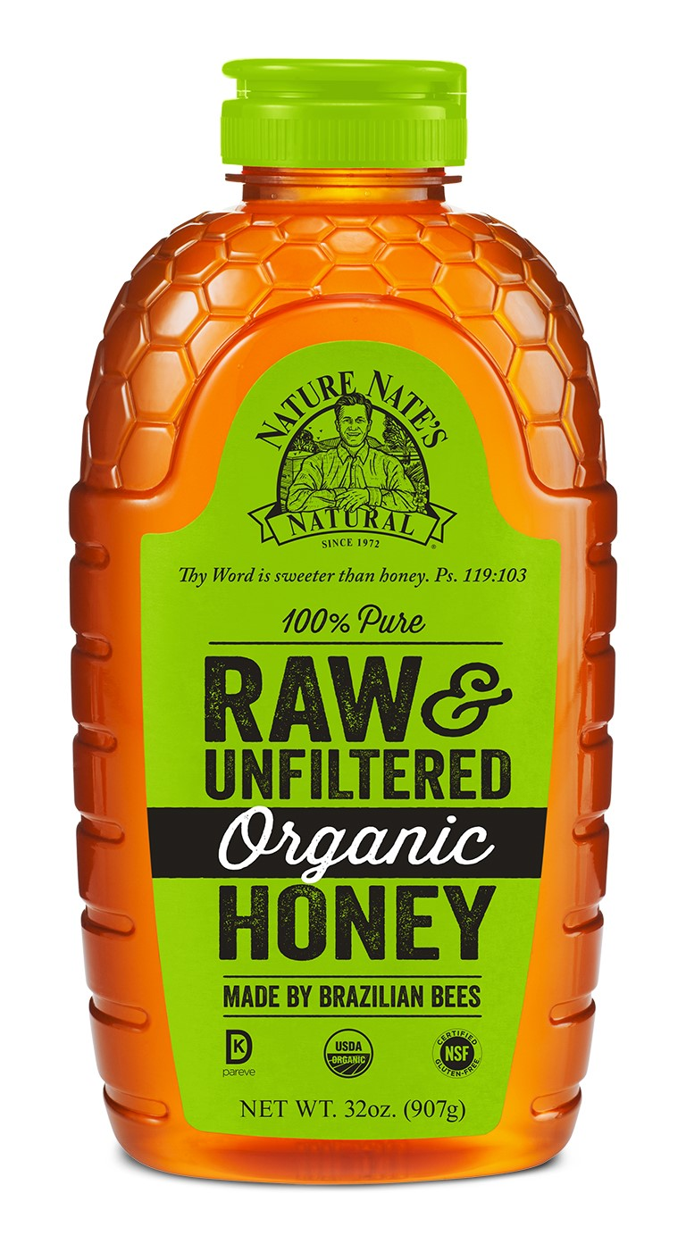 Nature Nate's Organic Honey, 32 Oz by Nature Nate's