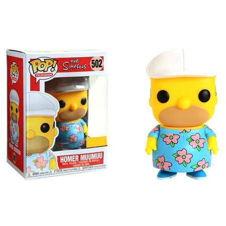 The Simpsons Funko POP! TV Homer Muumuu Vinyl Figure - Homer Simpson Mask