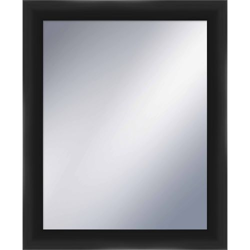 "PTM IMages 5-1199 33.5"" X 27.5"" Rectangular Mirror With Black Frame by PTM Images"