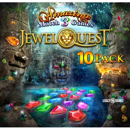 Amazing Match 3 Games Jewel Quest (PC DVD), 10