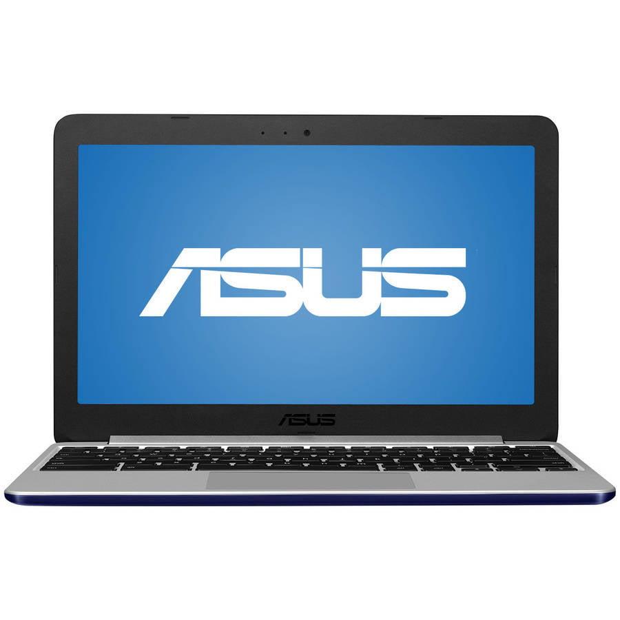 "ASUS Black 11.6"" C201PA Chromebook PC with ARM Rockchip Cortex A17 RK3288 Quad-Core Processor, 4GB Memory, 16GB eMMC and Chrome OS"