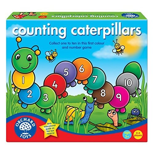 Counting Caterpillars Board Game