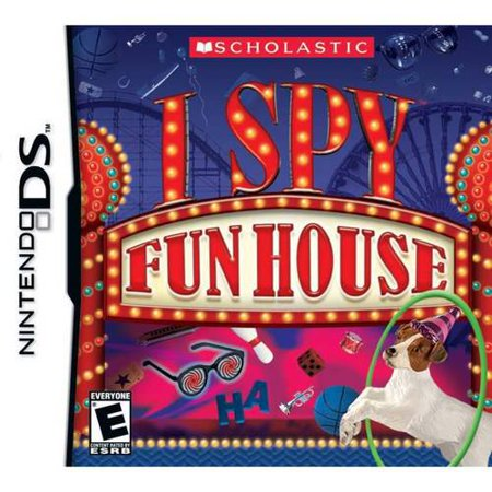 I Spy Funhouse Scholastic NDS Video Game