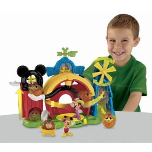 Fisher-Price Mickey's Farm Play Set