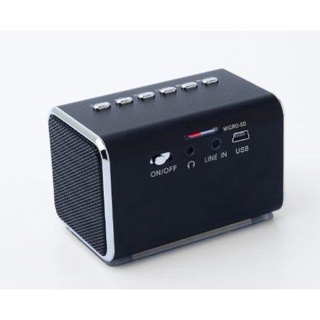 Jumblâ ¢ Mini Hidden Spy Camera Radio Clock w/Infrared Night Vision - Black