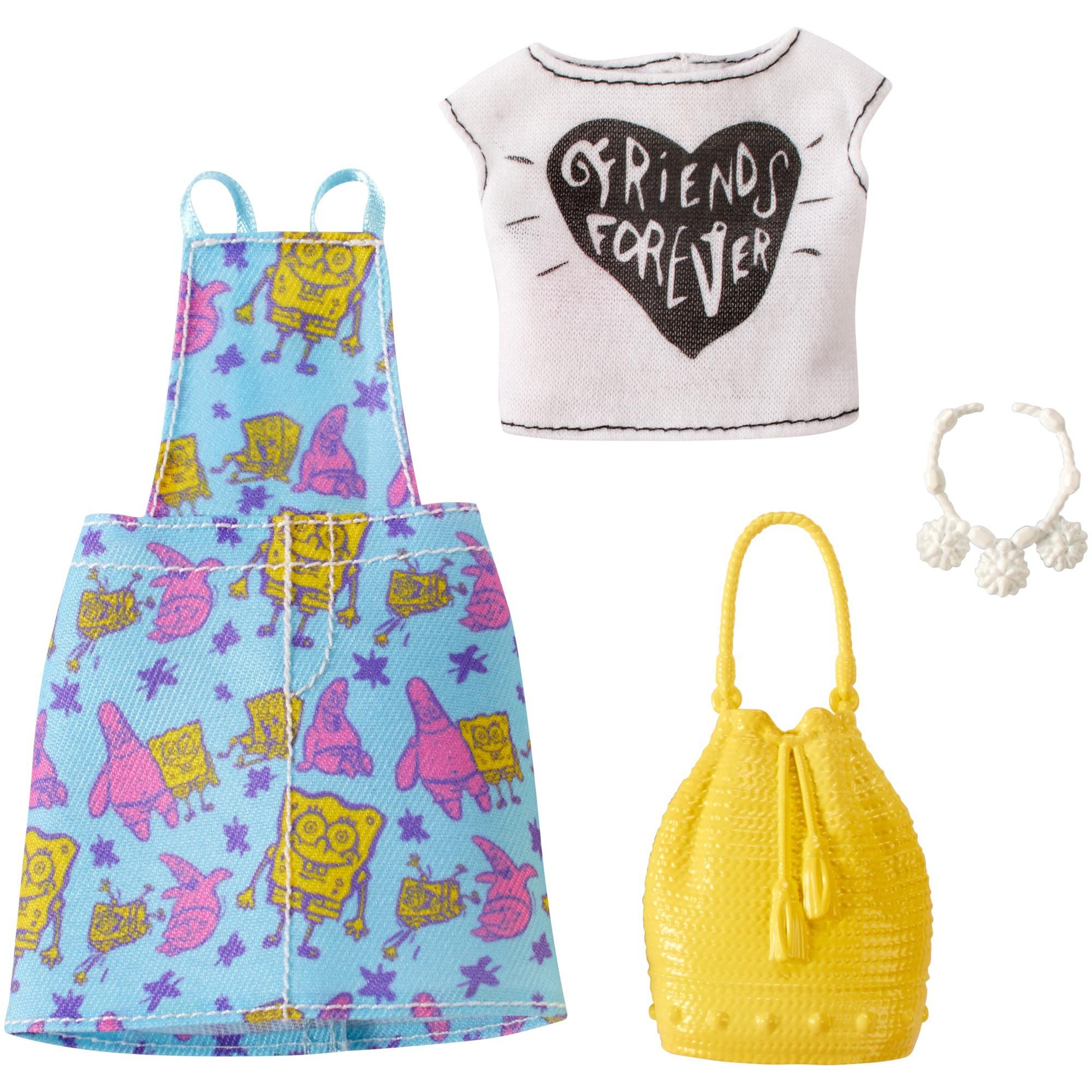 Barbie Spongebob Squarepants Fashion Pack #5