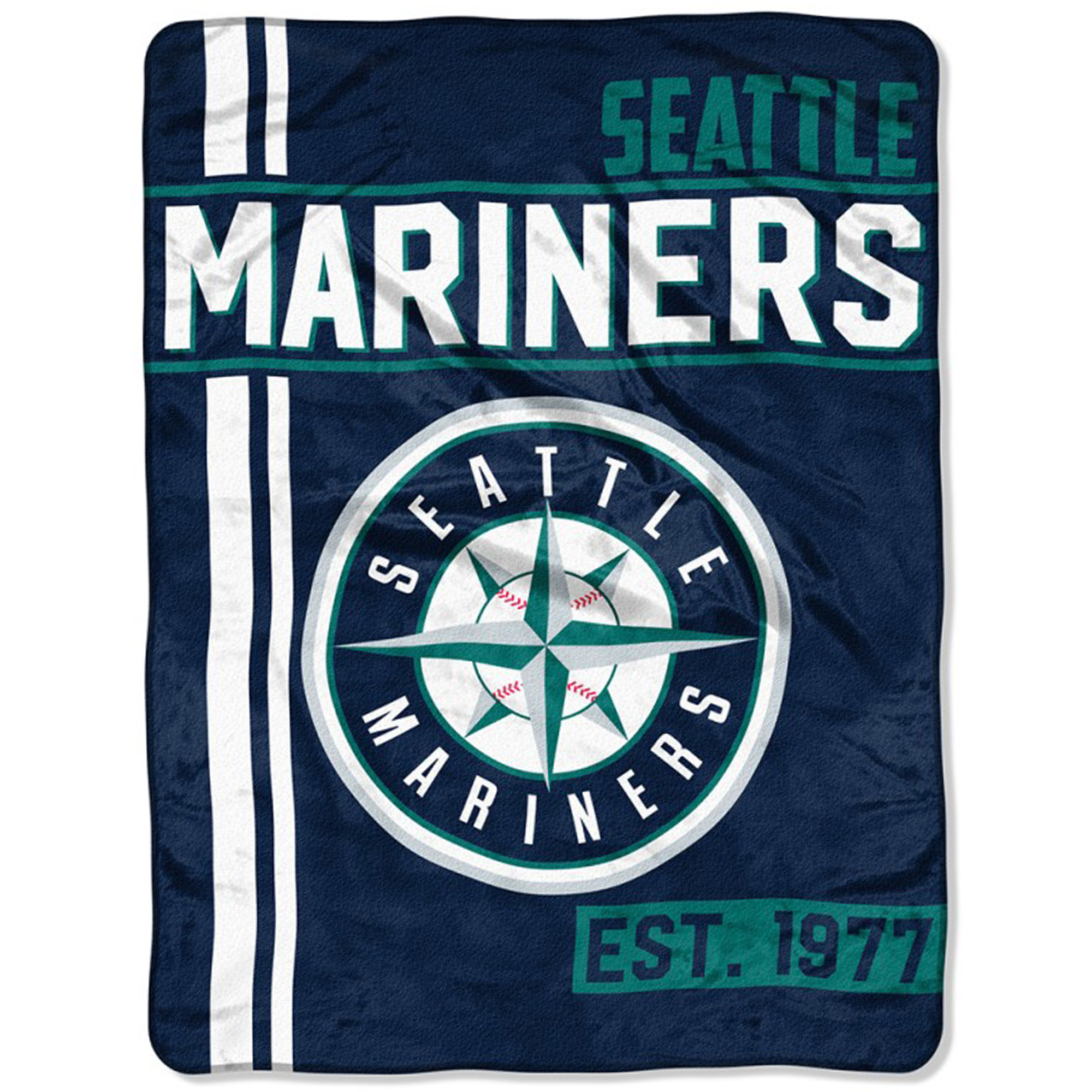 "Seattle Mariners The Northwest Company 46"" x 60"" Walk Off Micro Raschel Throw Blanket - No Size"