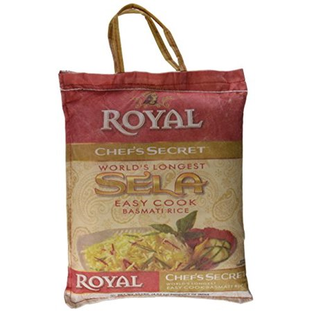 Royal Chef Secret Extra Long Sela Basmati Rice, 10