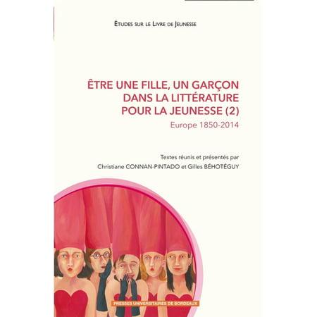 Être une fille, un garçon dans la littérature pour la jeunesse (2) - eBook - Maquillage D'halloween Pour Fille