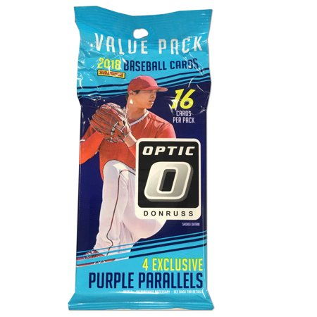 18 Panini Donruss Optic Mlb Baseball Fat Pack Trading Cards