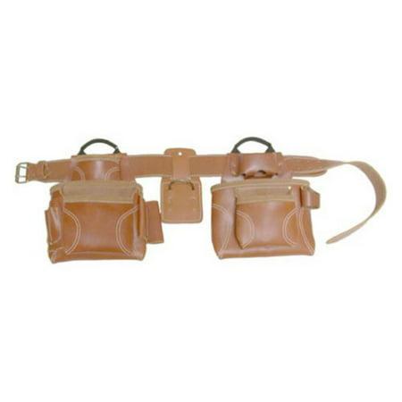 Custom Leathercraft 21448 17-Pocket 4-Piece Pro Framer's Combo System Tool