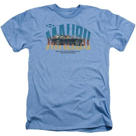 Chevy Men's  Thumbs Up T-shirt Light Blue (Thumbs Up Thumbs Down)