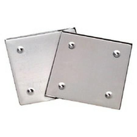 Diamond Tech Metal Mosaic Tile Raised Edge Square Coaster Base, 4 X 4 in, Silver (Mosaic Coaster Kit)