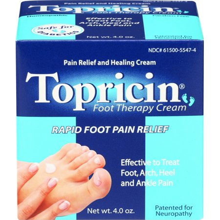 Topricin Foot Pain Relief Cream 4oz (Best Foot Pain Relief Cream)