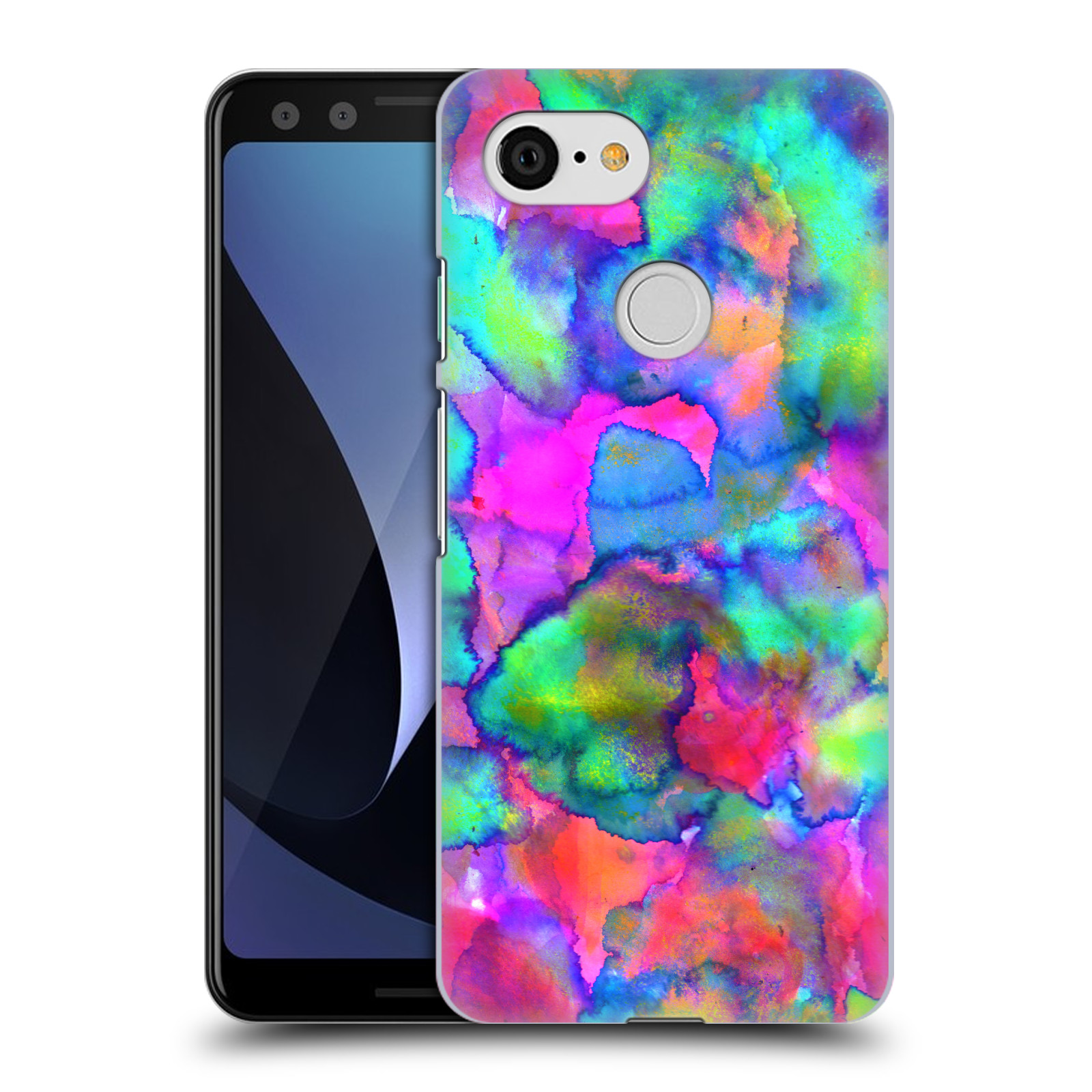 OFFICIAL AMY SIA ABSTRACT COLOURS HARD BACK CASE FOR GOOGLE PHONES