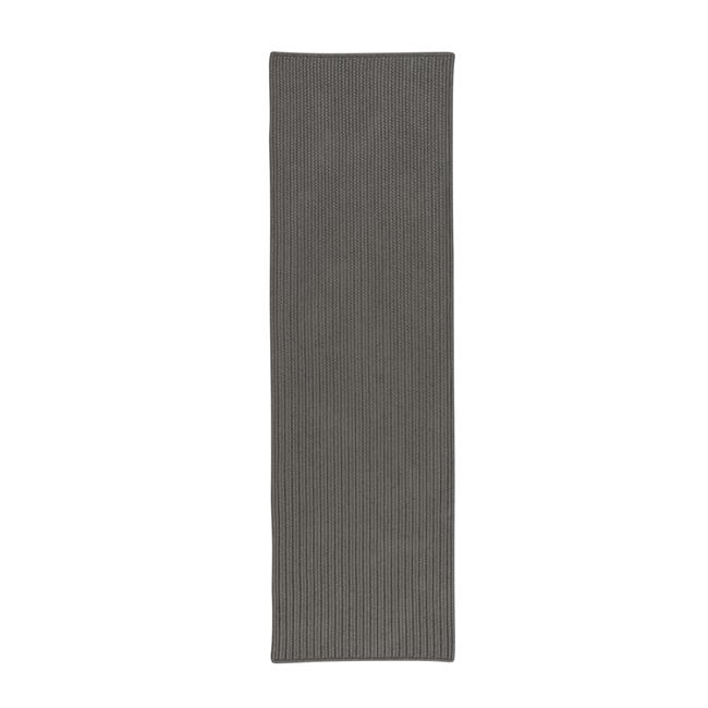 Colonial Mills Rug PU54R030X132S All-Purpose Mudroom Braided Runner  Harbor Grey - 2 ft. 6 in. x 11 ft. - image 1 of 1