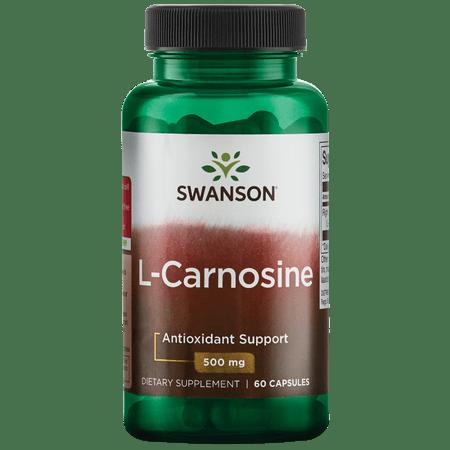 Swanson L-Carnosine 500 mg 60 Caps
