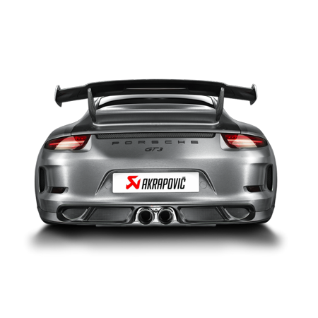 Akrapovic Carbon (Akrapovic 14-17 Porsche 911 GT3 (991) Rear Carbon Fiber Diffuser -)