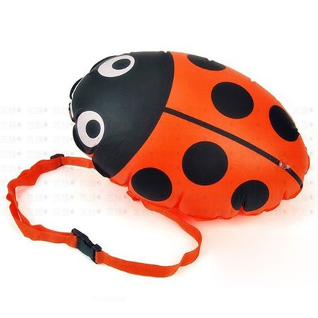 Cartoon Cute Ladybird Safety Swimming Bouy, Inflatable Lifesaving Air Bags with Waist (Air Bag Safety)
