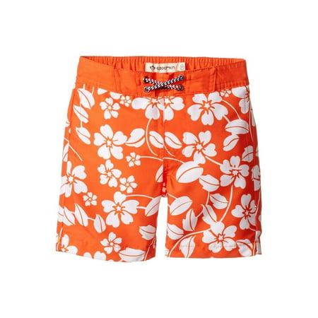 Appaman Kids Baby Boy's Island Floral Swim Trunks SIZE 7](Appaman Clothing)