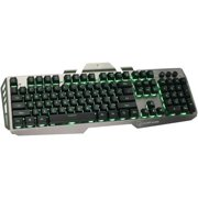 Iogear GKB704L-BK Kaliber Gaming HVER Aluminum Gaming Keyboard - Black & Gray