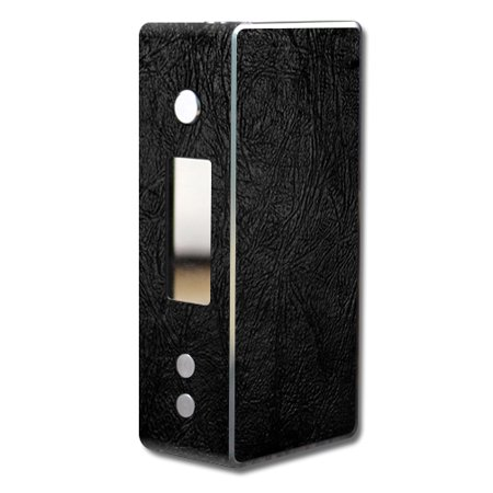 Skin Decal Wrap for Dovpo Guardian 7.5 75W mod vape Black Leather