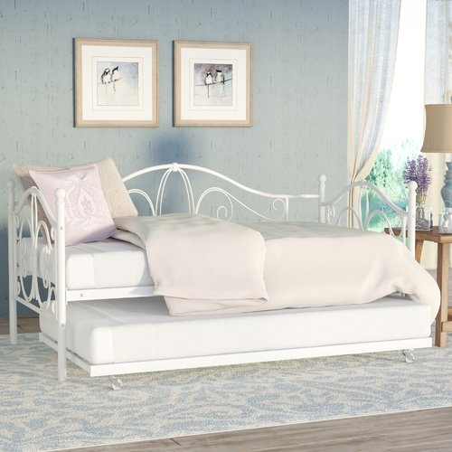 August Grove Baleine Day Bed with Trundle by