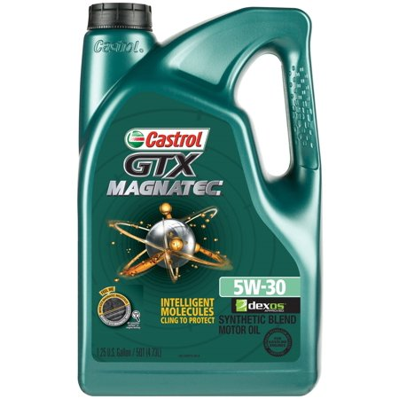 castrol gtx magnatec 5w 30 full synthetic motor oil 5 qt. Black Bedroom Furniture Sets. Home Design Ideas