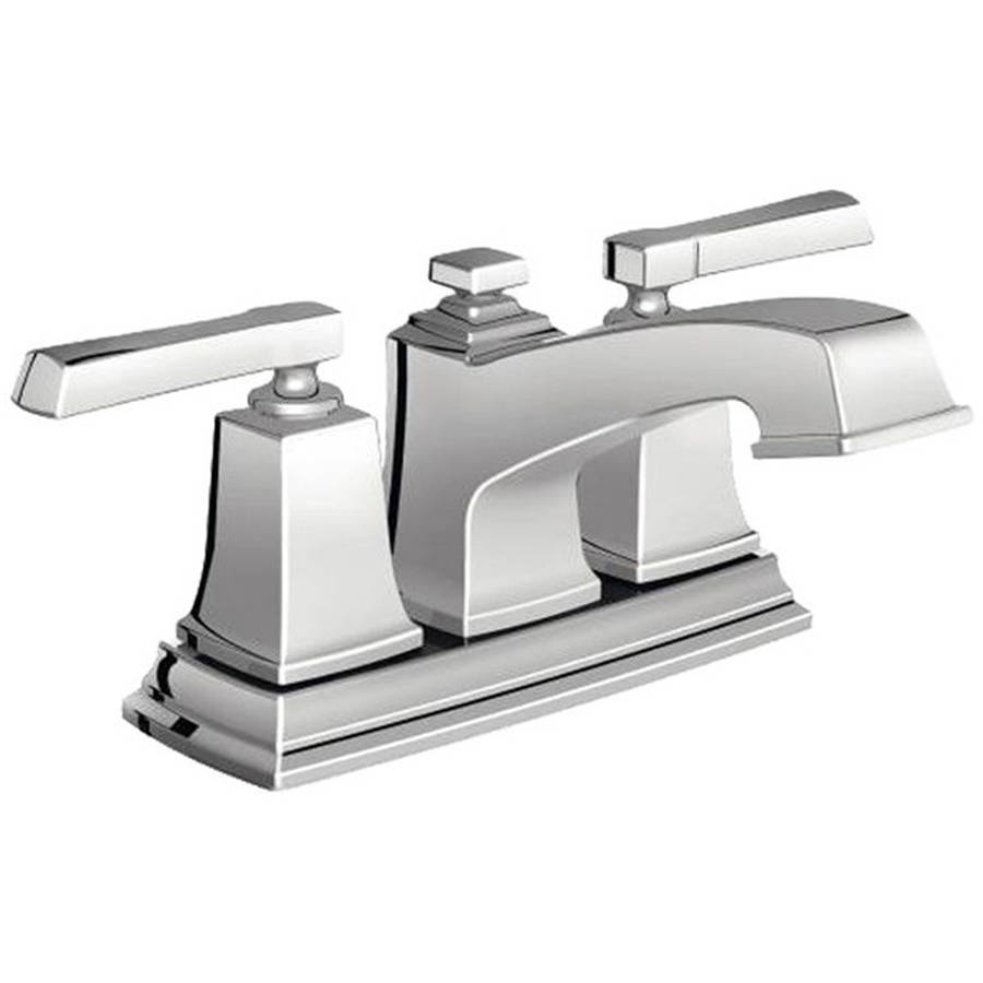 Moen 6010 Boardwalk Two Handle Low Arc Bathroom Faucet, Chrome