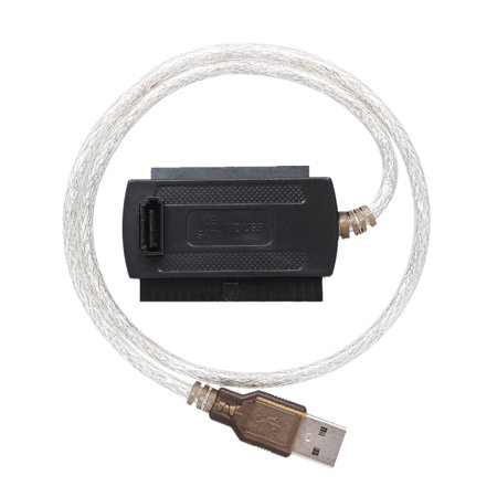 USB 2.0 to IDE SATA 2.5 3.5 Hard Drive HD HDD Converter Adapter Cable High