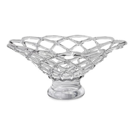"Decorative Blown Glass Bowls Unique 21"" Luxurious Large Weaved Decorative Hand Blown Glass Bowl Design Ideas"
