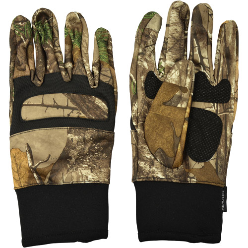 Realtree Midweight Gloves, Realtree Xtra