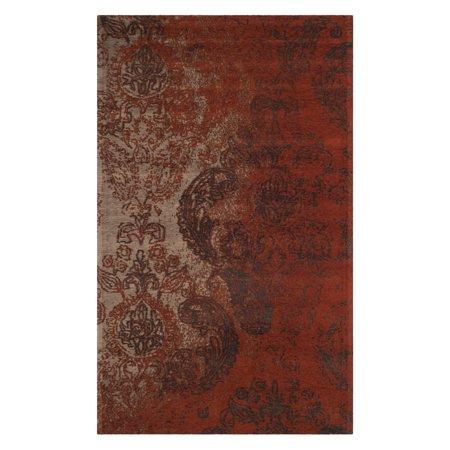 - Safavieh Classic Vintage Isolde Power-Loomed Area Rug, Rust/Brown