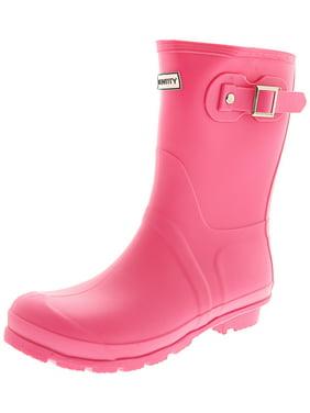 7c4a8702f Product Image Exotic Identity Original Short Rain Boots - 7M - Matte Black