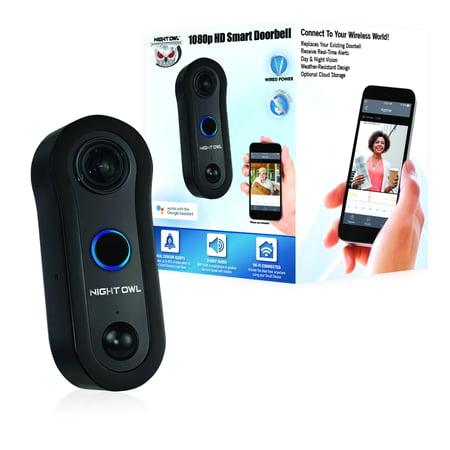 Night Owl 1080p Smart Doorbell