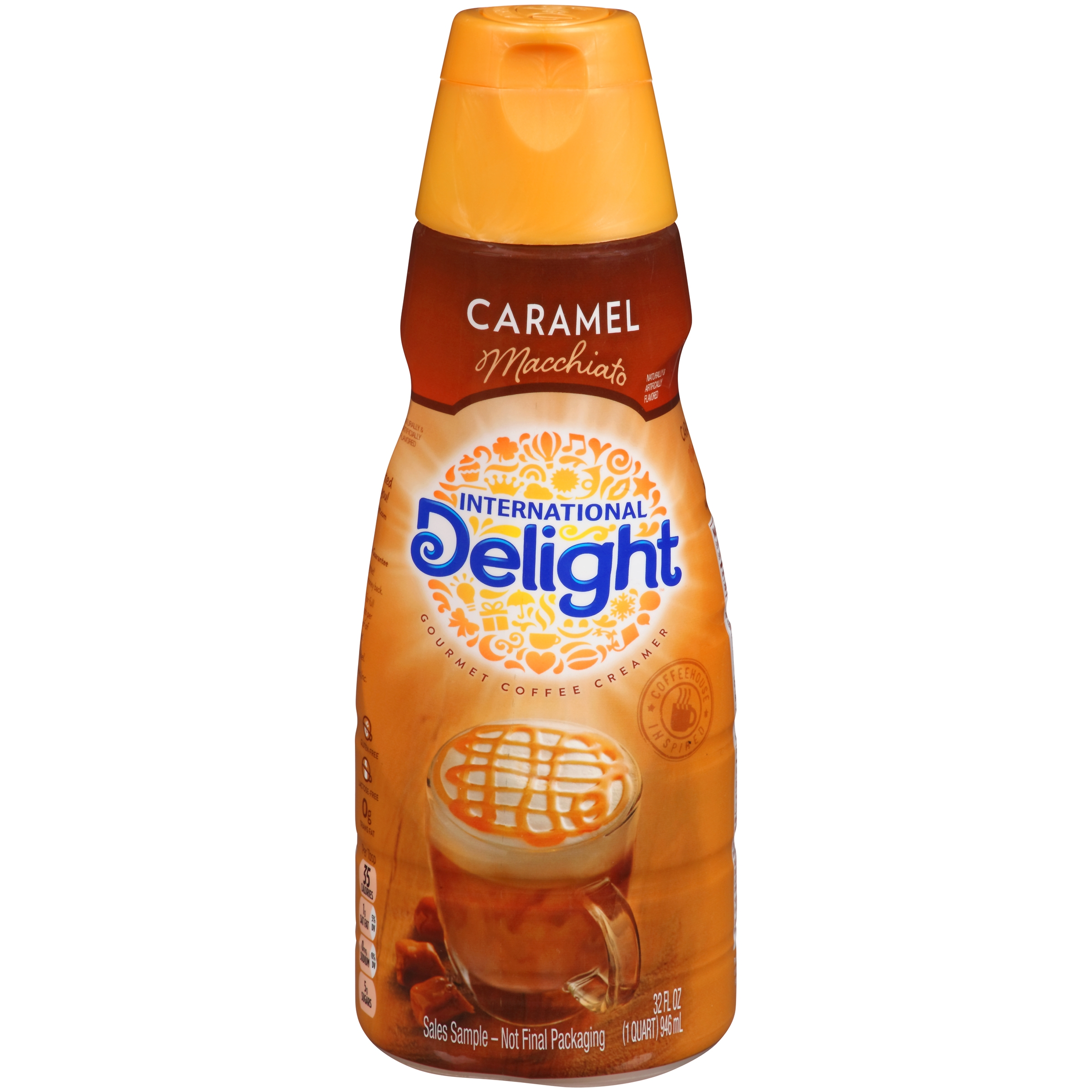 1. You can find some great deals on International Delight coffee creamer. Receive the product for no cost with a $2 discount coupon! Check back around the holiday season for fantastic deals on themed creamers. 2. Target sells the oz cans of International Delight One Touch Latte for $