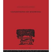 Conditions of Knowing - eBook