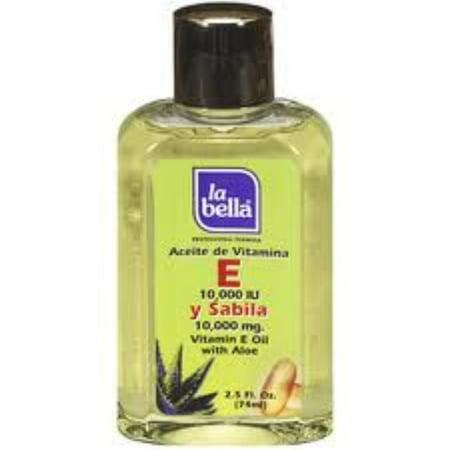 (2 Pack - La Bella Professional Formula Vitamin E Oil with Aloe 2.5 oz)