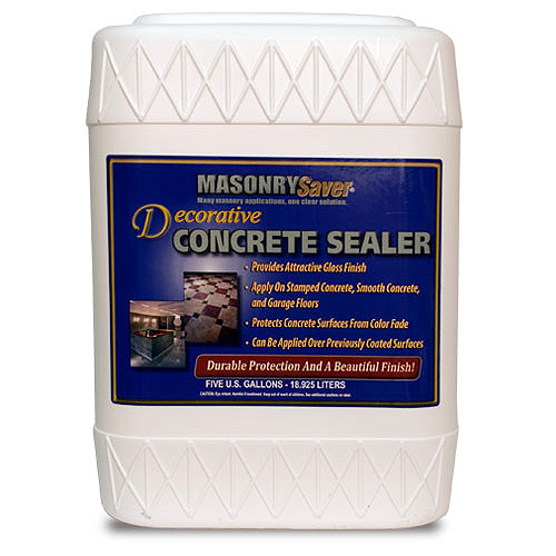 MasonrySaver Decorative Concrete Sealer 5gal