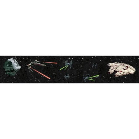 Disney Kids III Star Wars Classic Ships Border - Civil War Wallpaper