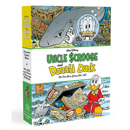 Walt Disney Uncle Scrooge and Donald Duck the Don Rosa Library Vols. 3 & 4 Gift Box Set Four Volume Set