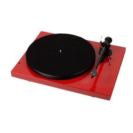 Pro Ject Debut Iii Recordmaster Turntable With Usb And Phono Preamp  Red