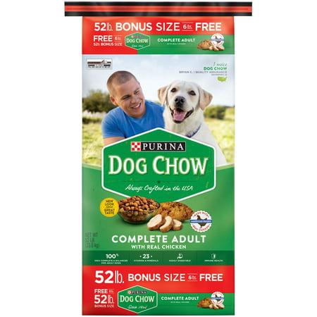 Purina Dog Chow Complete Bonus Size Dry Food 52 Lb